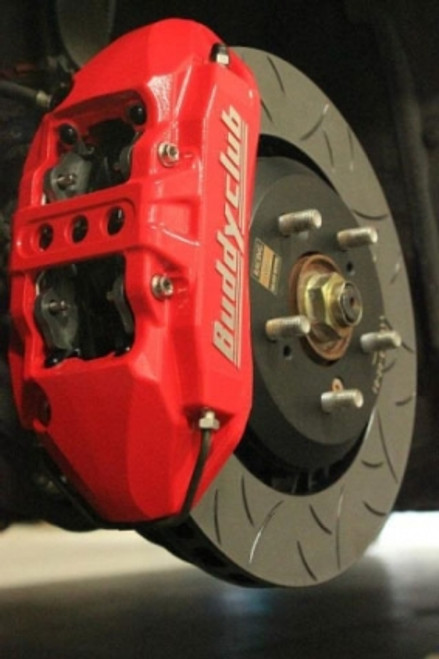 Buddy Club Racing Spec Brake Kit Civic 12+ Non Si 4pot 1pc/330mm Imola Orange Front