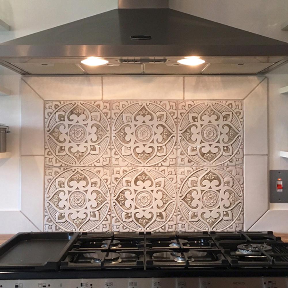 Large Moroccan Tile 4 Luxury Tiles Handmade By Gvega