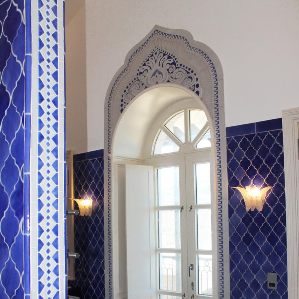 Handmade tiles bathroom #1