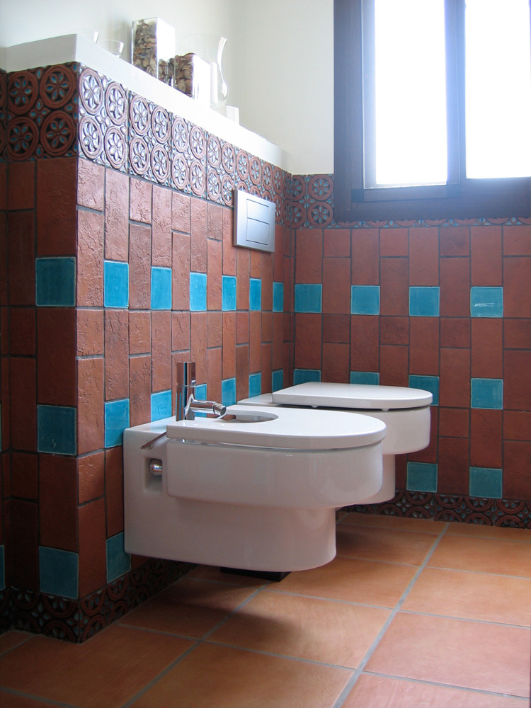 Handmade tiles bathroom Dama #3