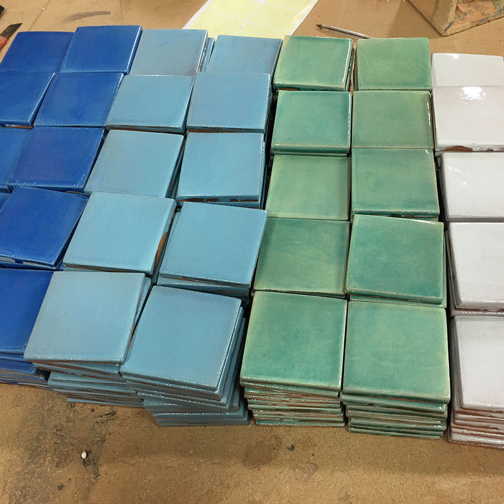 Handmade tiles - Field tiles colors #1