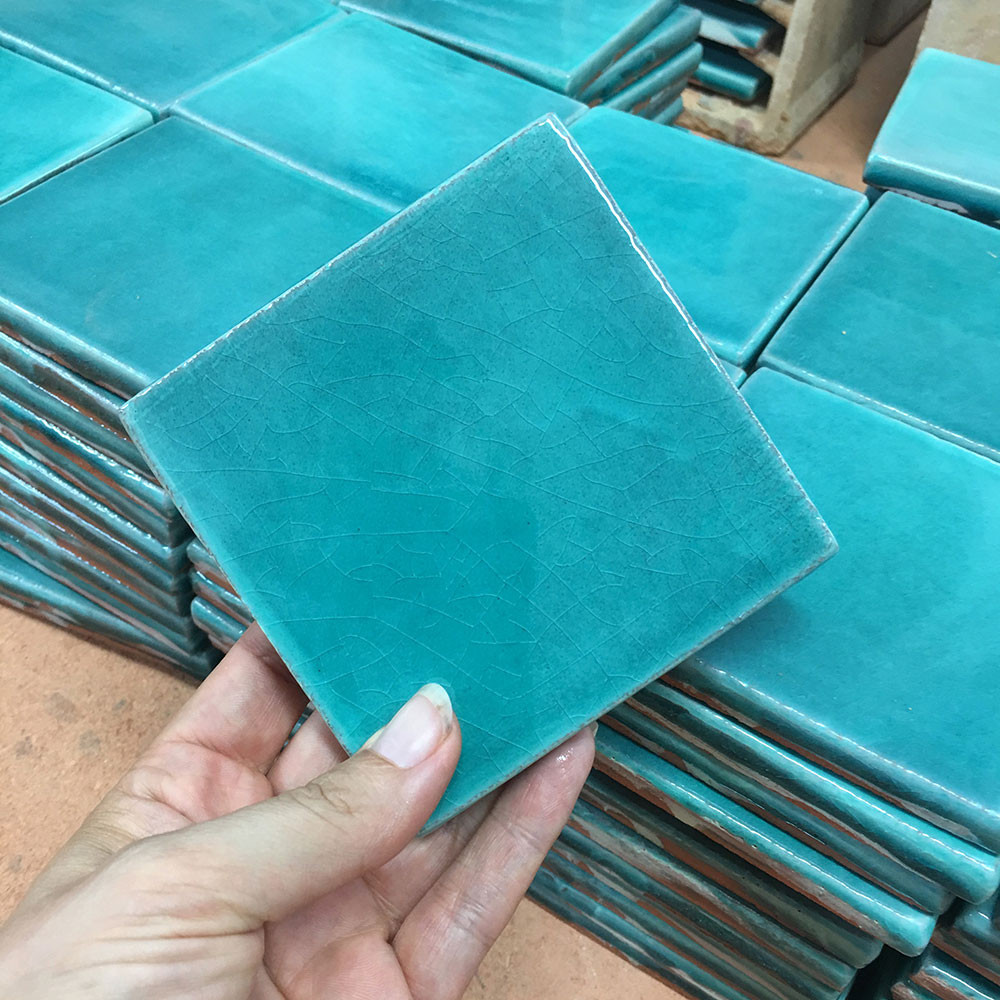 Handmade tiles for kitchens and bathrooms.  Wall tiles handmade in Spain by gvega