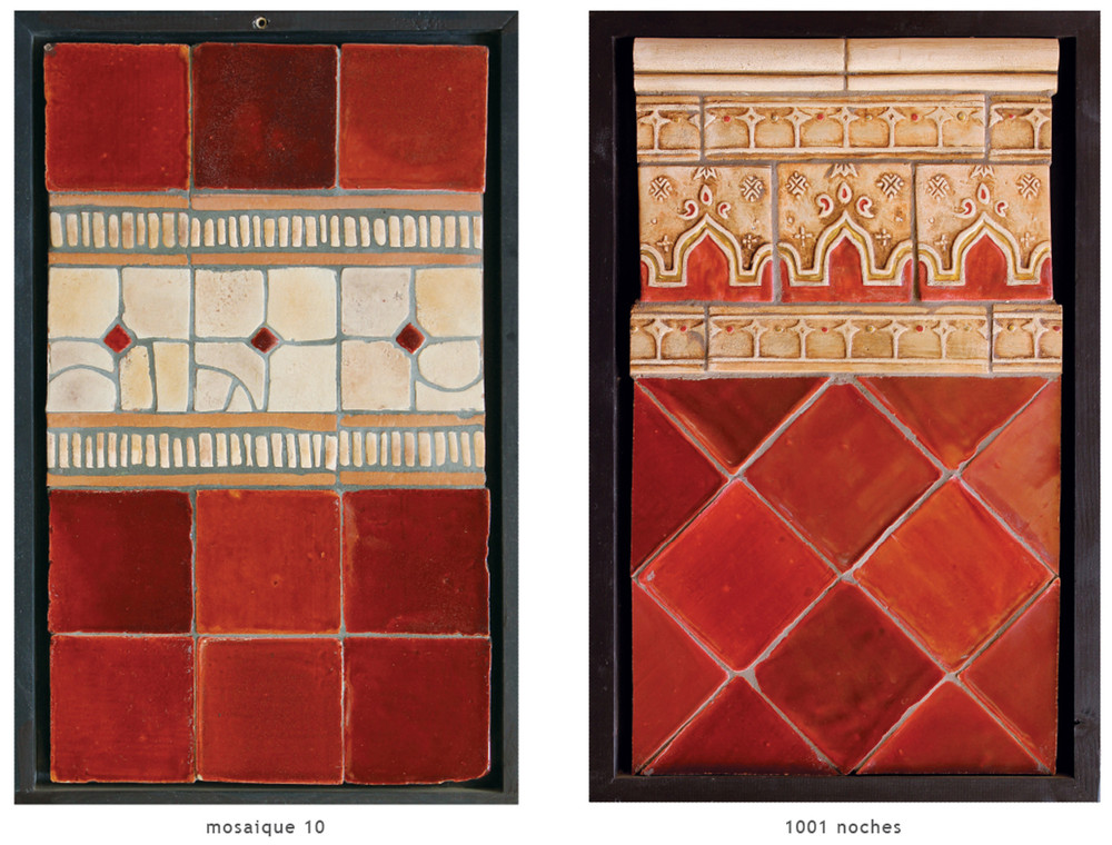 Handmade tile compositions #1