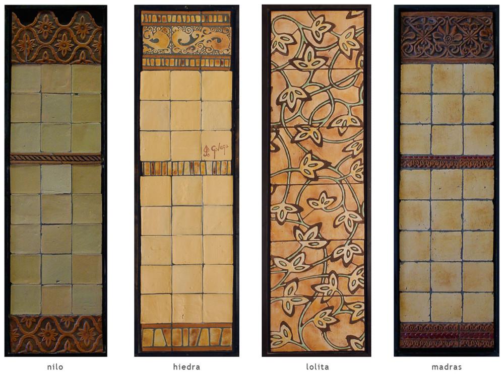 Handmade tile compositions #13