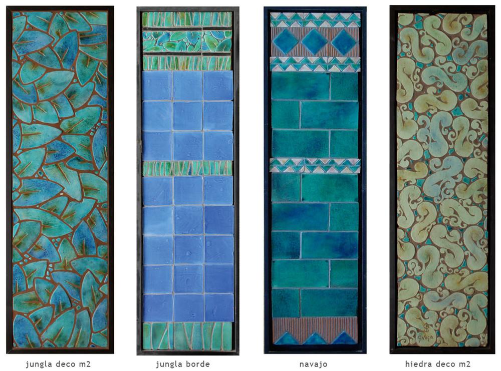 Handmade tile compositions #14