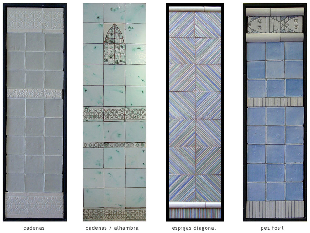Handmade tile compositions #18