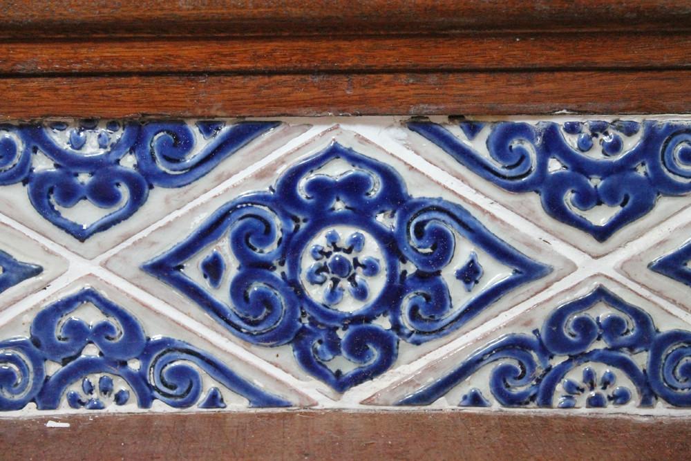 Architectural ceramics risers #1