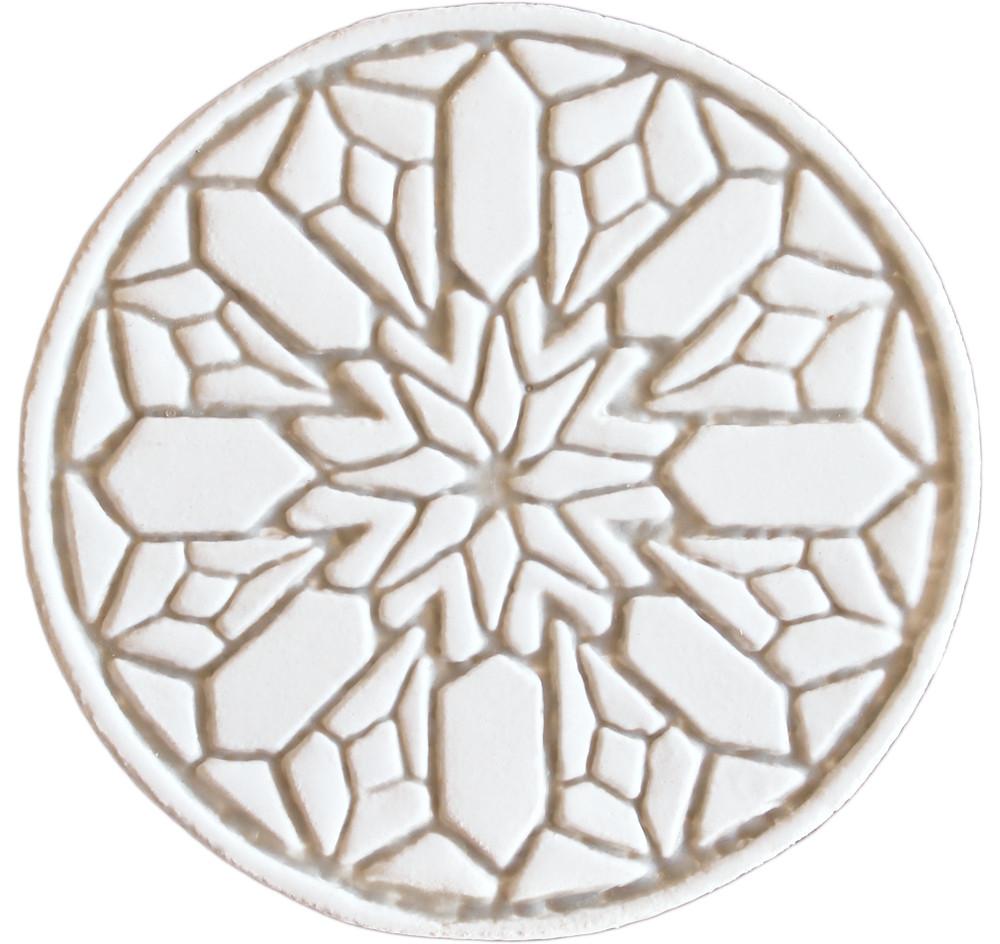 Moroccan circle wall art#2 beige