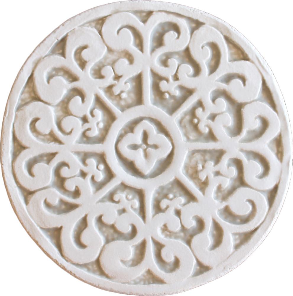 Wall decoration Mandala#2 Circular 15cm Beige