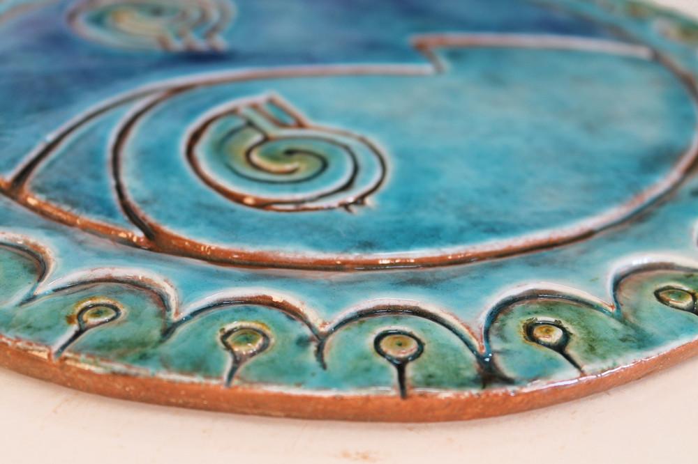 Circular Tile Sun&Moon - #3 - Large - Zoom