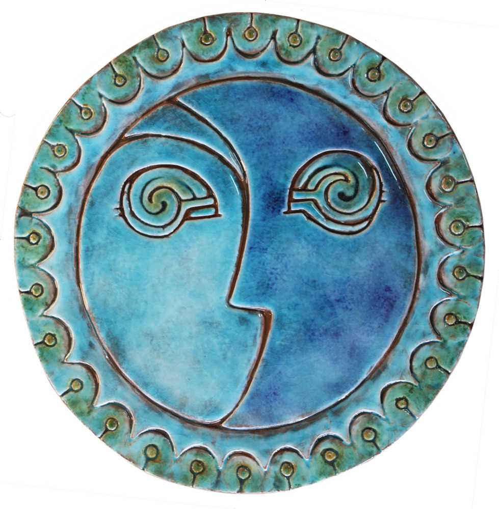 Circular Tile Sun&Moon - #3 - Large