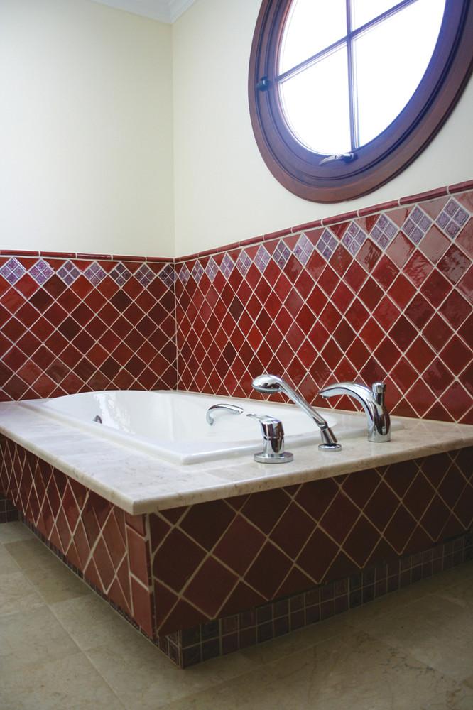 Handmade tiles bathroom  Alhambra #1