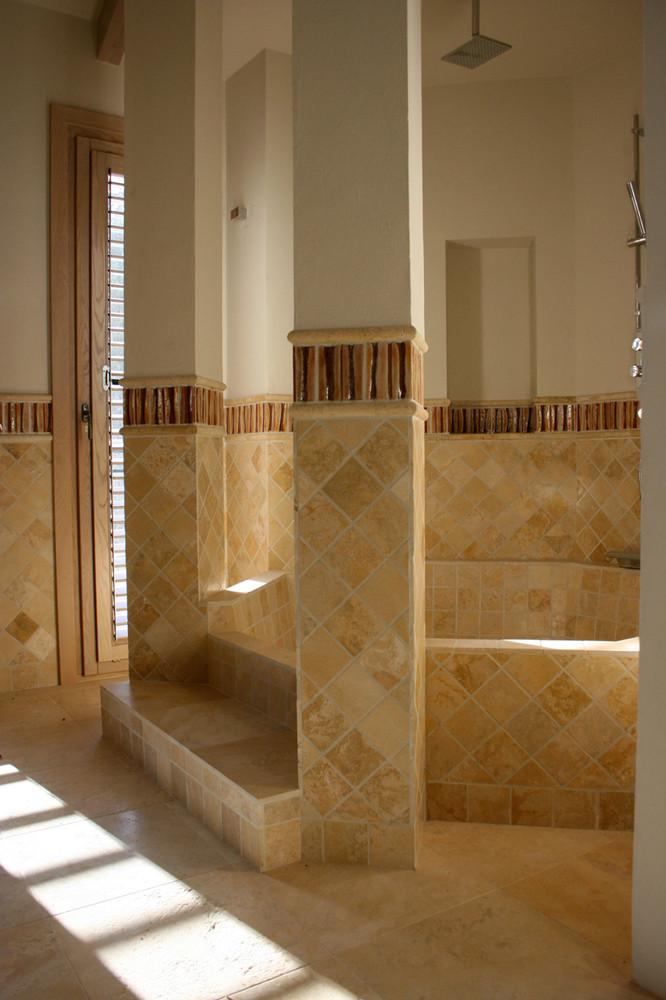 Handmade tiles bathroom Silueta #1