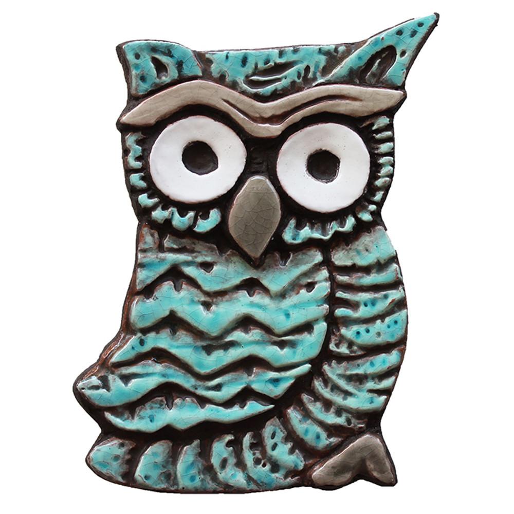 Wall Art Owlet - Small - Jade