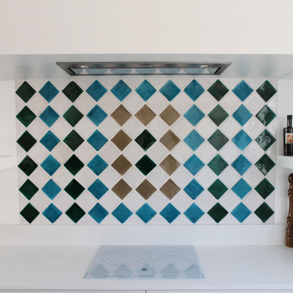 Handmade tiles square [8cm]