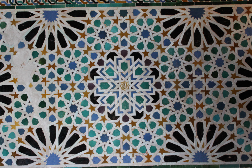 DESIGN: Tilework in the Alhambra