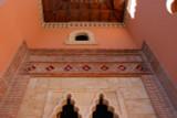Custom handmade tiles to decorate exterior wall