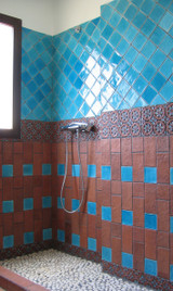 Handmade tiles bathroom Dama #2