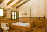 Handmade tiles bathroom Fleur de lis  #1