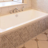 Handmade tiles diamond bathroom #2