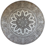 Our ceramic murals make unique outdoor wall art for your garden or patio walls. Our tiles are handmade in Spain.
