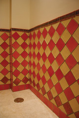 Handmade tiles bathroom Plain tiles