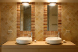 Handmade tiles bathroom Silueta #2