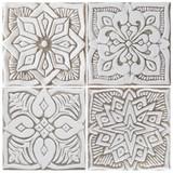 """Handmade Tiles Beige Set4 Moroccan [15cm/5.9""""]"""