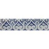 Handmade tiles for kitchens and bathrooms.  Decorative border tiles handmade in Spain