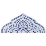 Decorative arch made from ceramic.  Handmade spanish tile for doorway or window decoration.