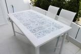 Handmade tile mosaic tabletop 1