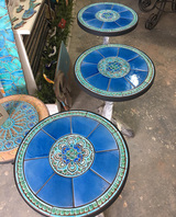 Handmade tile mosaic tabletop 3