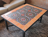 Handmade tile mosaic tabletop 5
