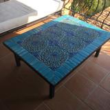 Handmade tile mosaic tabletop 6