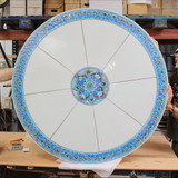 Handmade tile mosaic tabletop 9