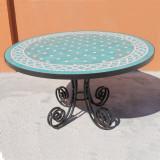 Handmade tile mosaic tabletop 10