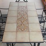 Handmade tile mosaic tabletop 13