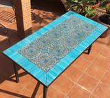 Handmade tile mosaic tabletop 14