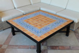 Handmade tile mosaic tabletop hiedra #3