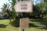 Ceramic house sign, custom made number plaque