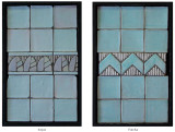 Handmade tile compositions #11