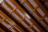 Handmade ceramic tile - architectural ceramics on ceiling