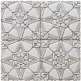 decorative tile - amara - beige [15cm]