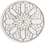 Moroccan circle wall art#2 beige