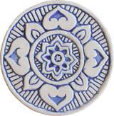 Wall decoration Mandala#1 Circular 15cm Blue&White