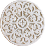 Wall decoration Mandala#2 Circular 15cm Beige