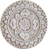 """Mandala wall art - deco - beige [21cm/8.2""""]"""