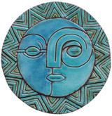 Circular Tile Sun&Moon - #1 - Large