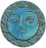 Circular Tile Sun&Moon - #1 - Large
