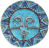 Circular Tile Sun&Moon - #5 - Large
